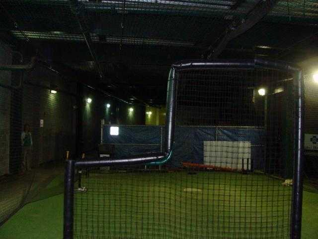 Players come in and take a few swings before and after the game. Usually the hitting coach, pitching coach, or a relief pitcher will pitch to the batter.