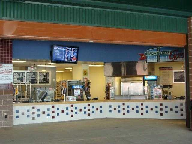 Concessions at Clipper Magazine Stadium appeal to almost every fan.