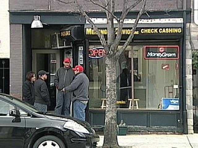 In December 2007, two young men enter the J&R Check Cashing business in downtown Lancaster.