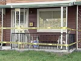 An elderly widow was strangled and her body set on fire at this Steelton home in Oct. 2006.
