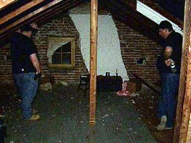 """A neighbor at the time (of the Civil War) happened to be able to see into the window at the other end of the house and he saw that this entire room was filled with Confederate shooters,"" Gudmestad said."