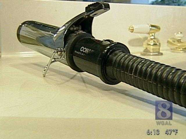 How about curling irons? Again, when tested, a curling iron draws no power when not turned on.