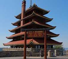 …to the M&M Stone Company Rock Quarry in West Rockhill to the Pagoda Skyline in Mt. Penn (shown).