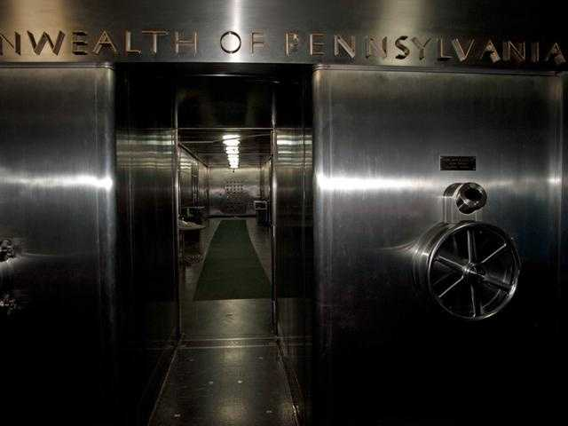 870 drawers full of unclaimed property can be found within the state's treasury vault.