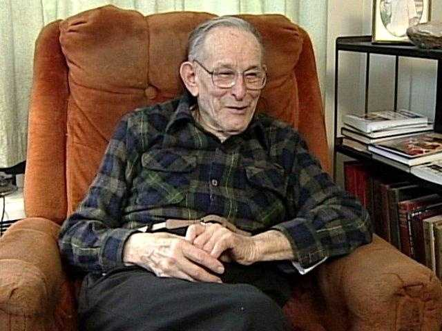 """""""I have no intentions of moving,"""" Mervine said in this 2005 interview. At the time, Mervine was also the mayor of the town -- population 11."""