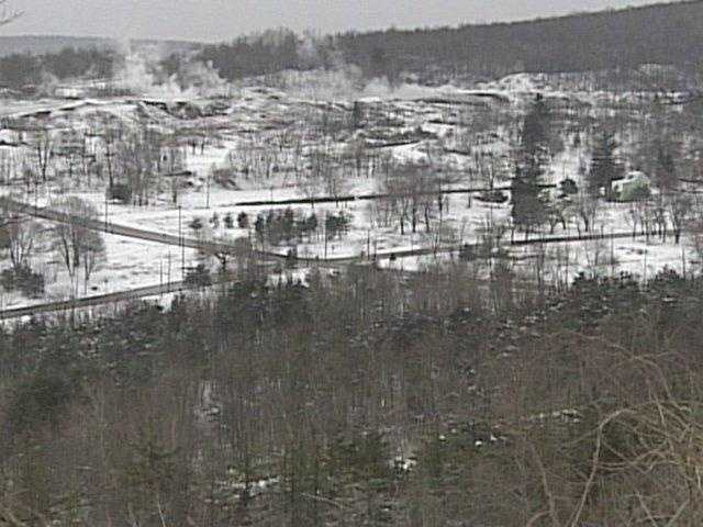 In 2005, just 11 people lived in the town.