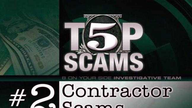 When consumers are a victim of a contractor scam, they are usually scammed for a large amount of money.