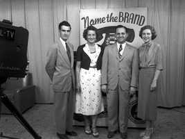 Name The Brand, 1953.