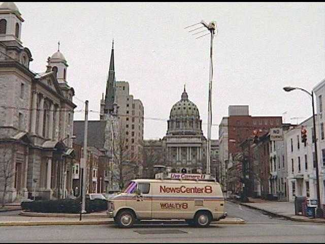 In 1981, WGAL was the first television station in the Susquehanna Valley to take viewers to news events via a LIVE mobile news truck.