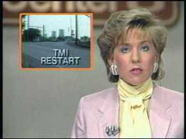 Former anchor Carol Williams reports on the Three Mile Island restart.