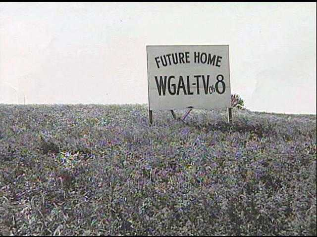 But more than 5 decades ago, it was just a sign on a hill.
