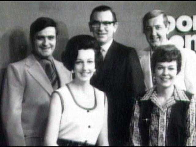 Left to right: Jeff Werner, Barbara Allen, Bob Malick, Ann Herr and John Scott.