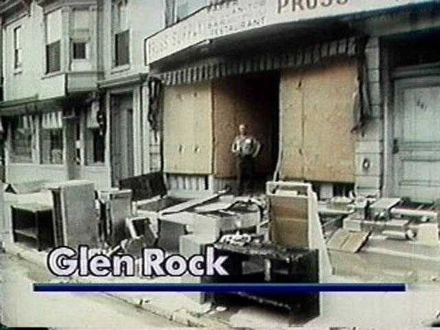 The entire business district of Glen Rock was flooded out during Agnes, and a number of those businesses never reopened.