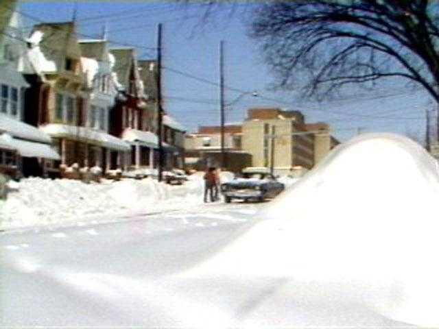 These pictures are from News 8's archival footage of the storm.