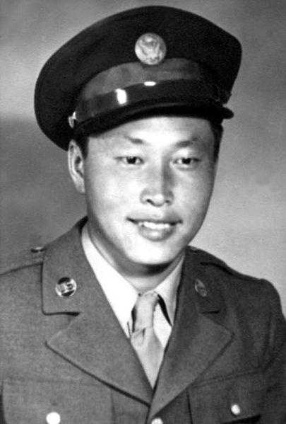 George T. Sakato: U.S. Army, World War II: After his platoon was pinned down, Sakato made a one-man rush to charge and destroy the enemy strongpoint. He killed 12, wounded two, captured four, and assisted his platoon in taking 34 prisoners. Sakato essentially turned defeat into victory.