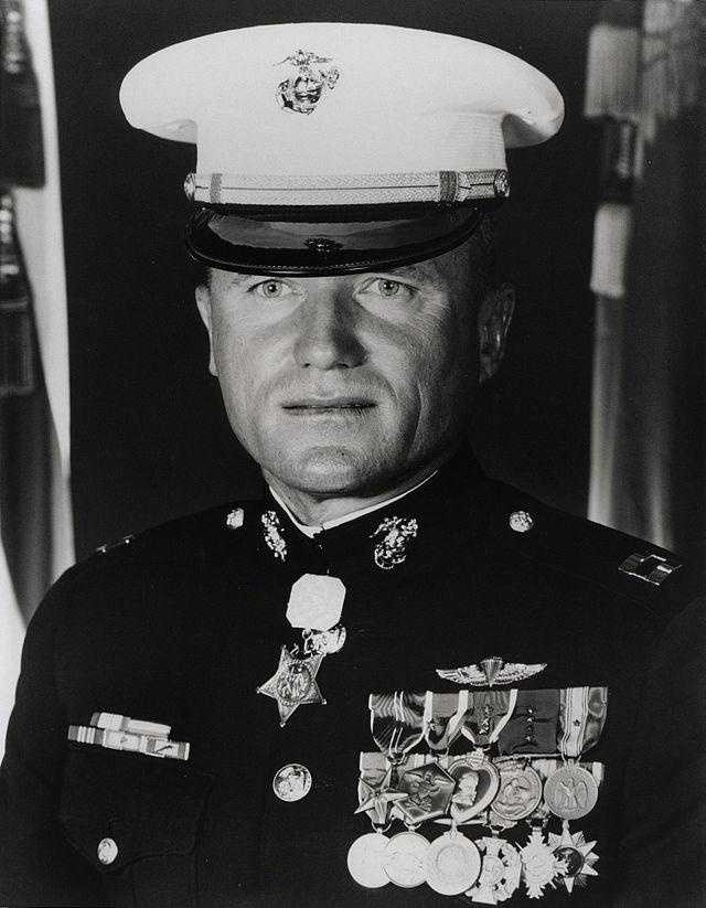 Wesley L. Fox: U.S. Marine Corps, Vietnam War: Even though he was wounded, Fox risked his life to advance through enemy fire and ordered assault against hostile emplacement. Fox refused medical attention, established defense, and supervised the medical evacuation of causalities.