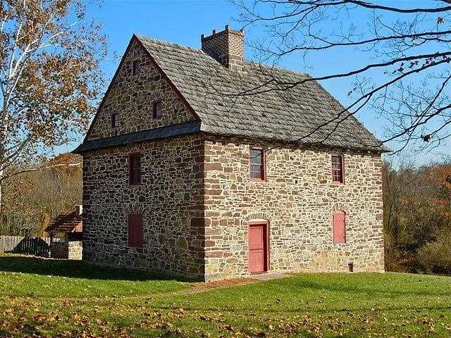 The Henry Antes House is located in Colonial Road in Upper Frederick Township, Montgomery County. It was designed and built in 1736 and stands as an example of Moravian settlement homes.