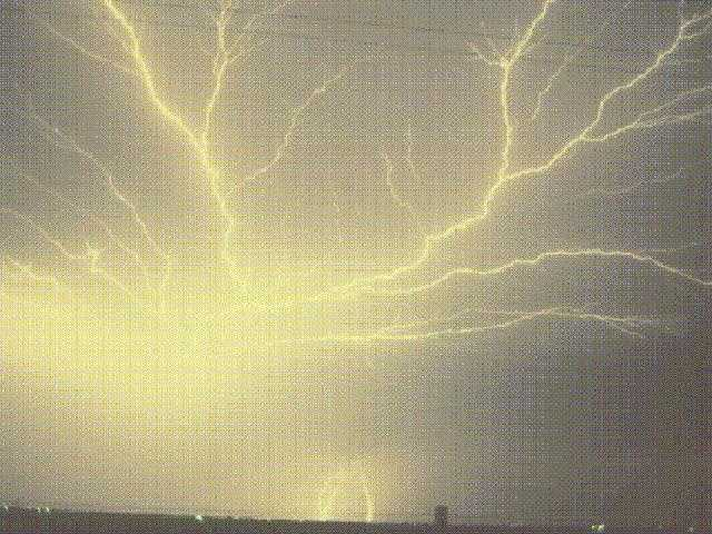 Intra-cloud lightning.