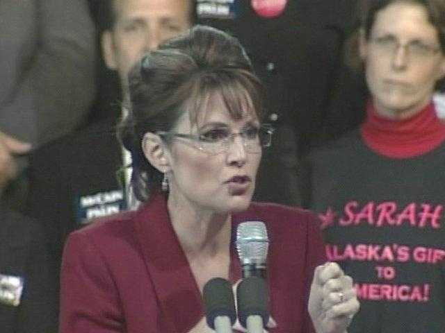 Sarah Palin explaining why Alaska's proximity to Russia gives her foreign policy experience