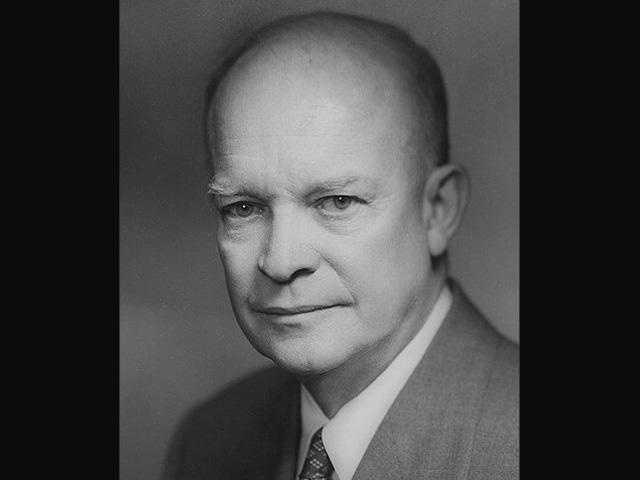Former President Dwight D. Eisenhower