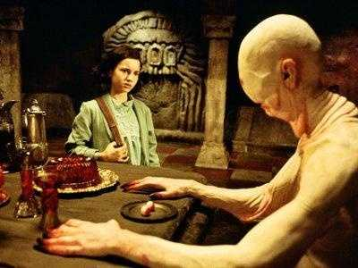"""30. """"Pan's Labyrinth"""": Director Guillermo de Toro's creepy """"Pan's Labyrinth"""" makes you wonder what's scarier: fantasy or reality?"""