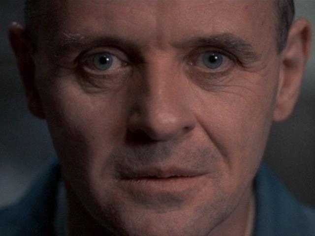 """20. """"Silence of the Lambs"""": Anthony Hopkins is a waking nightmare, the sick and twisted serial killer you hate to love."""