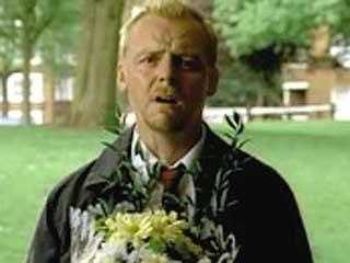 """14. """"Shaun Of The Dead"""": Okay we admit it: this parody probably isn't scary to most, but it is still creepy in its own way."""