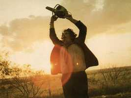 "7. ""Texas Chainsaw Massacre"": Leatherface is one who will surely scare the pants off of you, especially after learning it was based loosely on the life of Ed Gein (look that one up)."