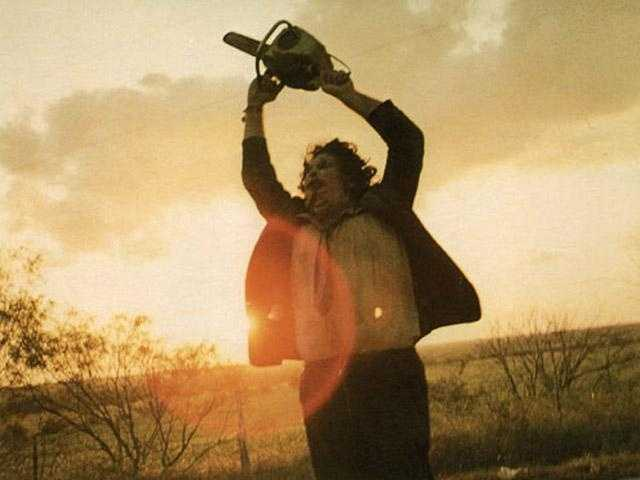 """7. """"Texas Chainsaw Massacre"""": Leatherface is one who will surely scare the pants off of you, especially after learning it was based loosely on the life of Ed Gein (look that one up)."""