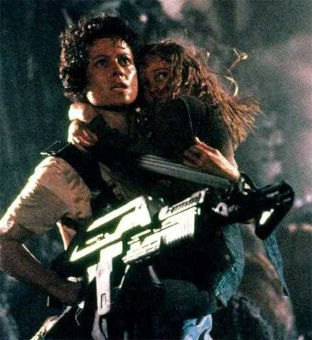 """5. """"Alien"""": Trapped on a spaceship with nowhere to run, graphic and violent -- this definitely is one of the tops on the list of things that are scary."""