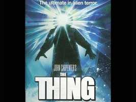 "3. ""The Thing"": A shape-shifting alien that poses as a member of a crew stationed at an Antarctic base is scary enough, but the fact that nobody knows which crew member is the alien is downright terrifying."