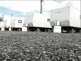 FEMA trailer lot