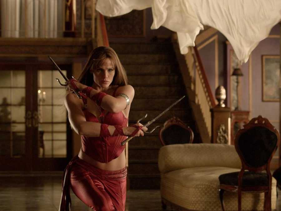"Elektra: Elektra is a female ninja assassin of Greek descent that was a love interest of the superhero Daredevil in publications from Marvel Comics. The character appeared in the 2003 ""Daredevil"" film, but received her own spinoff in 2005 with ""Elektra""."