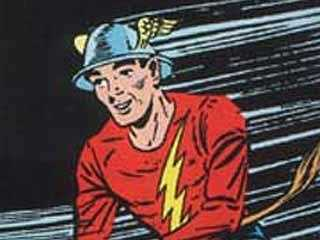 "Flash: The original Flash character first appeared in DC Comics' ""Flash Comics"" #1 in 1940. There have been several incarnations of the Flash character, four of which gain super-speed power and assume the identity of the Flash. While there was a brief TV Series, ""The Flash"" is rumored to hit theatres in 2013."