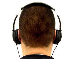 Tip No. 10: Don't wear headphones. They block your ability to hear someone approach you.