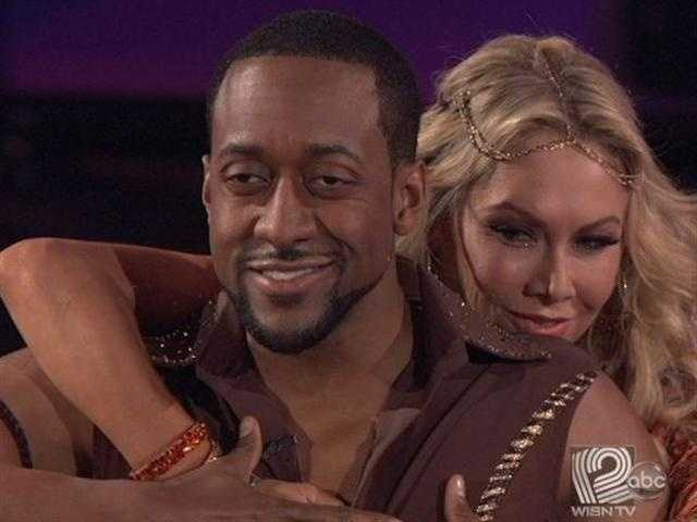 Jaleel White and Kym brought the first Samba to the ballroom Monday night.