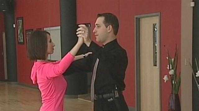 WISN 12 News reporter Hillary Mintz is fairly confident about her dancing.