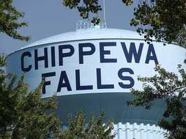 Chippewa Falls - Pop. 12,890Incidents of crime - 1,901