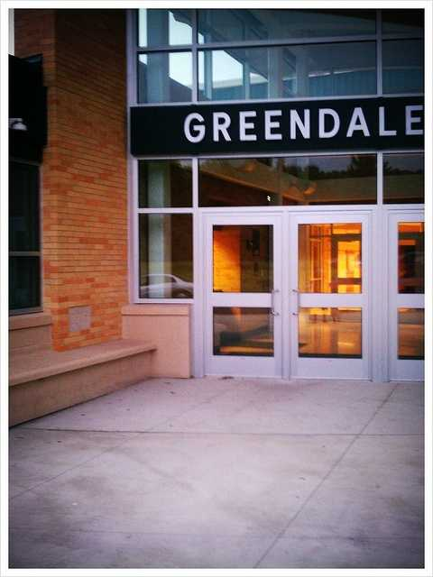Greendale - Pop. 14,119Incidents of crime - 4,710
