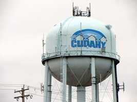 Cudahy - Pop. 18,980Incidents of crime - 2,998