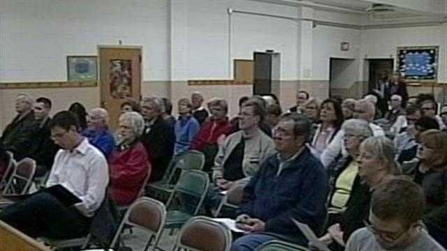 Informational meeting held in Brookfield about proposed Mosque.