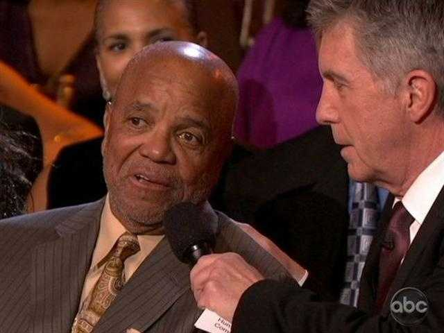 And Motown's founder Berry Gordy was in the audience to watch it all.