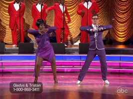 """Gladys Knight - a Motown legend herself - kicked off Motown week with """"My Girl"""" by The Temptations."""