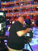 WISN 12 News photojournalist Hank Strunk shoots video.
