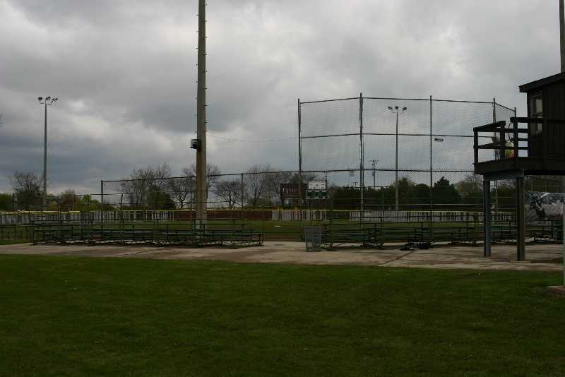 "One of the ball fields at the park was renovated with money from Chevrolet's ""Diamonds and Dreams"" program."