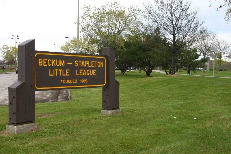 A portion of Carver Park was recently renamed James W. Beckum Park to honor the hard work and dedication of Mr. Beckum in creation of the Beckum-Stapleton Little League.
