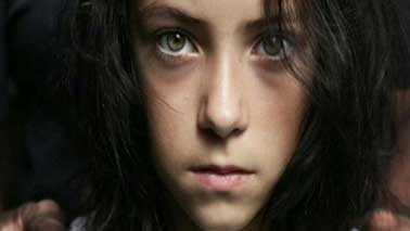 girl on human trafficking book