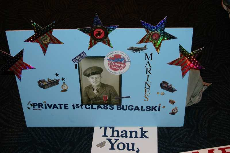 """Like"" Stars and Stripes Honor Flight on Facebook to see the latest info including pictures from their journey."