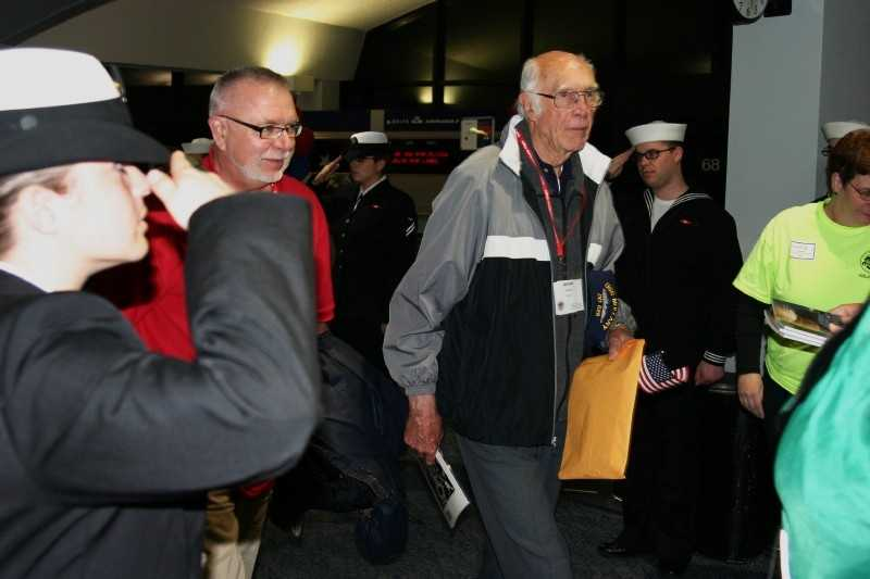 The waiting list still has over 300 WWII veterans waiting for their Honor Flight.