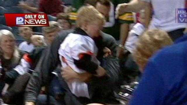 Child Injured During Mustangs Game